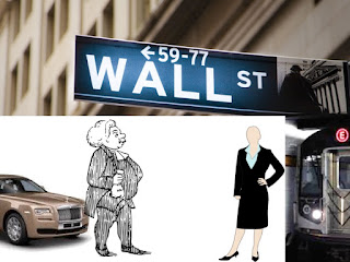 Wall Street Broker Advising Rich Man