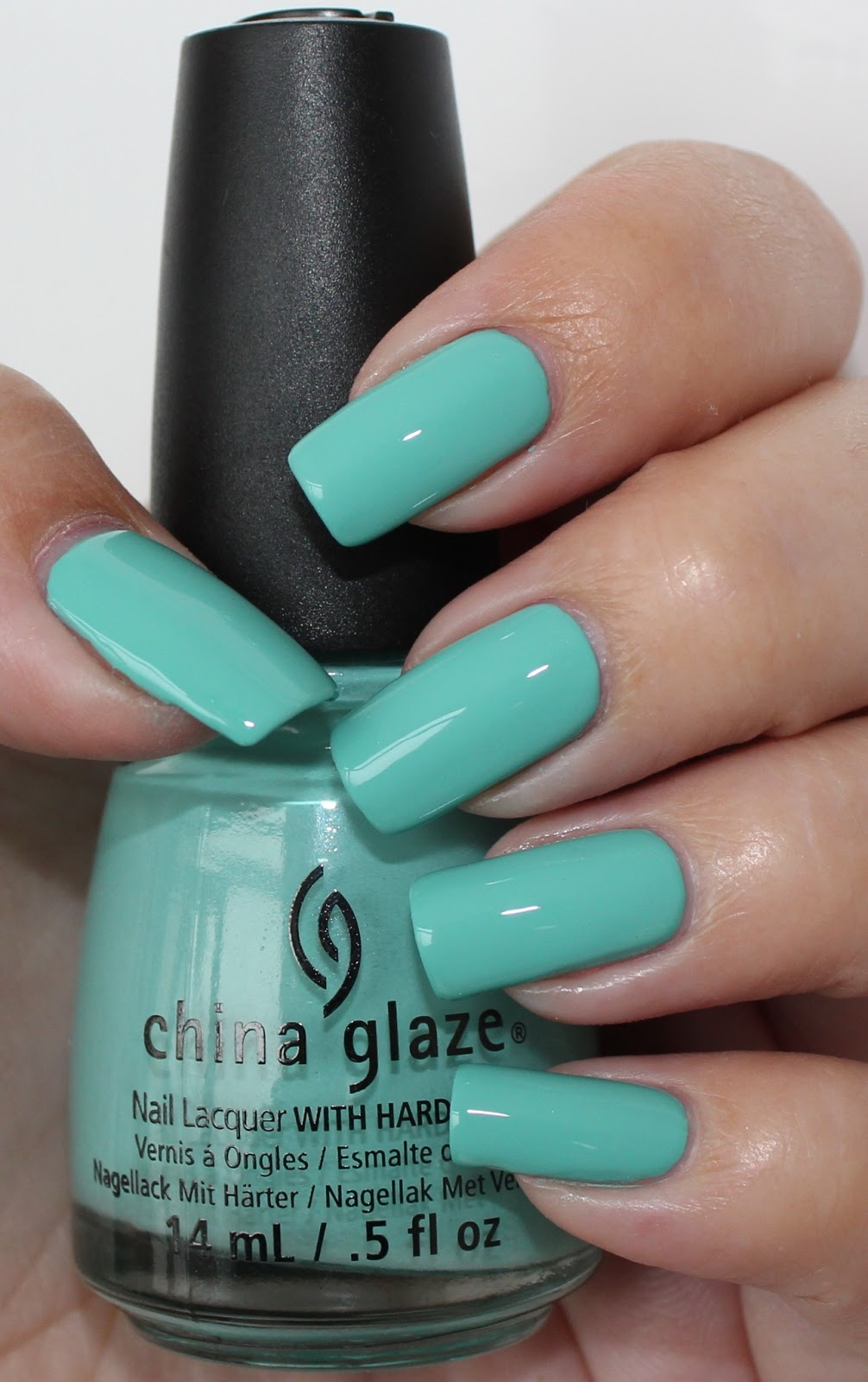 China Glaze Presenta Crakle Glaze: Lola Nailed It: China Glaze Aquadelic Swatch