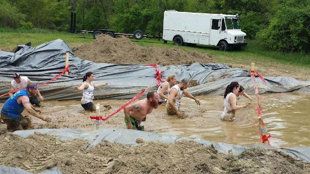 Warrior Dash Obstacle - Muddy Mayhem
