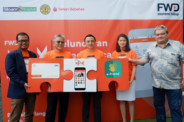 fwd life meluncurkan kartu kesehatan digital pertama di indonesia