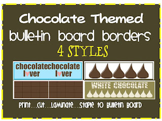 chocolate bulletin board borders