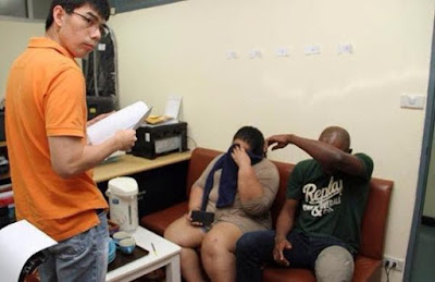 Dating Scam:Nigerian man and his Thai wife arrested in Bangkok for swindling marriage-seeking women(Photos)