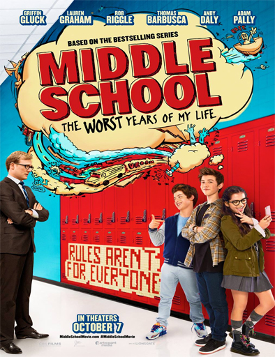 Ver Middle School: The Worst Years of My Life (2016) Online