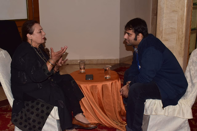 A rendezvous with National Award winning actor and costume designer Dolly Ahluwalia