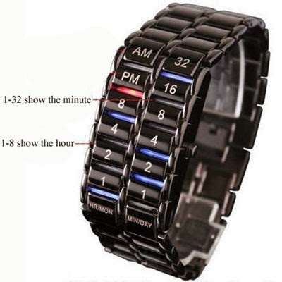 led watch army samurai new iron samurai