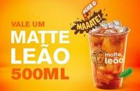 Matte Leão 500ml Grátis no McDonald's