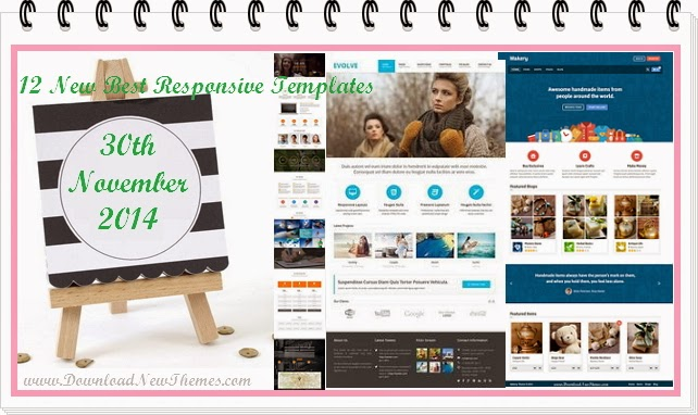12 New Best Responsive Themes