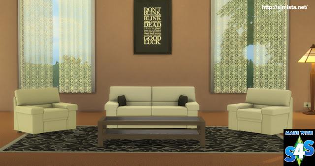 Tivoli Sofa Setting Simista A Little Sims 4 Blog
