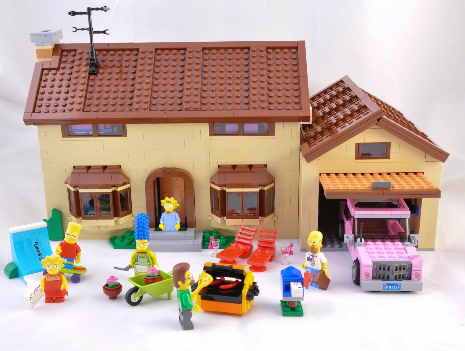 Oz Brick Nation: LEGO The Simpsons 71006: The Simpsons ... Lego Simpsons House