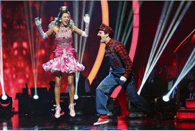 Sadie Robertson & Mark Ballas Mario Bros