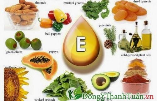 Thực phẩm chữa bệnh hôi miệng giàu vitamin E