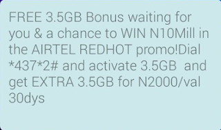 How to get Airtel 7GB for N2000 only.