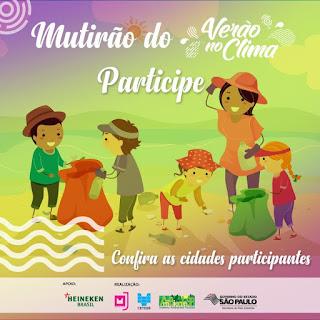 Verão no Clima abre inscrições para Mutirão, Caminhada e Corrida na Ilha Comprida