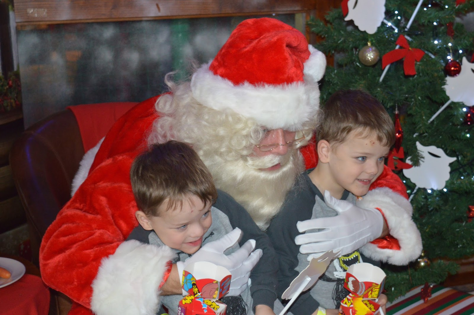 Breakfast with Santa at Brewers Fayre