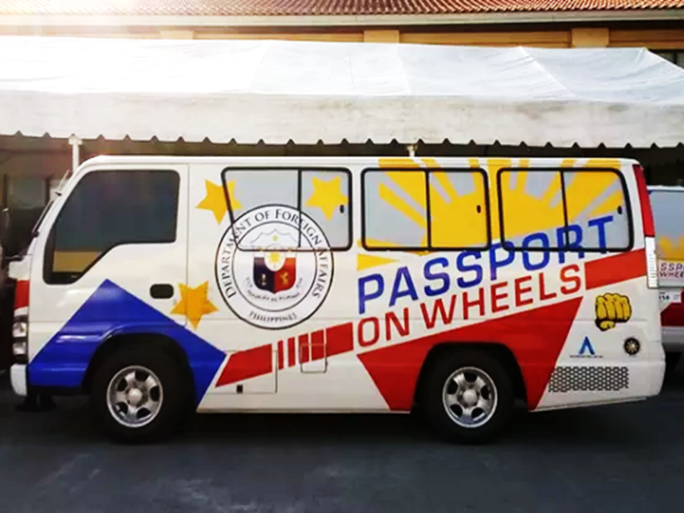 "Did you had any trouble placing your online appointment as all slots are now occupied and you need to get a passport as soon as possible? Sit tight, Passport On Wheels (POW) is now up and ready to serve and your place might be their next destination.  With the initiative of the Department of Foreign Affairs (DFA) headed by Secretary Allan Peter Cayetano, the consular services, in their aim to decongest the consular offices in Manila, launches ""passport on wheels"" with four buses that can serve at least 500 people a day— a total of 2000 slots per day.    The program was launched on January 15, 2018 at the Villar sipag, Pulang Lupa, Las Piñas as a recognition of Senator Cynthia Villars role in co-sponsoring and pursuing the passport longevity bill that has been a law increasing the validity of Philippine passports to ten years.  Passport on wheels next destination will be Manila City hall. Phe mobile passporting system will then visit different cities and municipalities starting next week. DFA is planning to bring passport on wheels in as far as Visayas and Mindanao as well.  Cayetano said that the growing demand on passport application caused delays and hassle in making online appointments. Passport on wheels is an effective tool to lessen the burden of falling in long queues at DFA consular offices.  DFA is also eyeing on improving passport on wheels by switching on to bigger vehicles in the near future. In his speech during the launch of passport on wheels, DFA Secretary Cayetano  quoted what President Rodrigo Duterte is  always saying to his cabinet— to do every possible way to make the lives of Filipinos easier. Sponsored Links  Read More:  Did You Apply for OFW ID and Did You Receive This Email?    Jobs Abroad Bound For Korea For As Much As P60k Salary    Command Center For OFWs To Be Established Soon   ©2018 THOUGHTSKOTO  www.jbsolis.com   SEARCH JBSOLIS, TYPE KEYWORDS and TITLE OF ARTICLE at the box below"