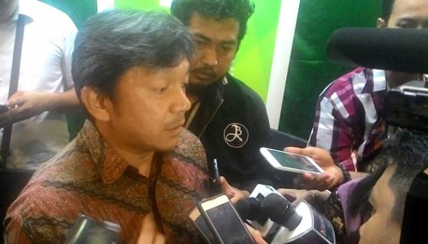 CEO Citilink Albert Burhan memutuskan mengundurkan diri dari jabatannya, Jumat, 30 Desember 2016. Langkah ini diambil setelah Citilink terbentur kasus adanya pilot yang diduga mabuk sebelum penerbangan dari Surabaya ke Jakarta pada 28 Desember 2016. Tempo/Egi Adyatama
