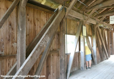 Everhart Covered Bridge at Fort Hunter Mansion - Harrisburg Pennsylvania
