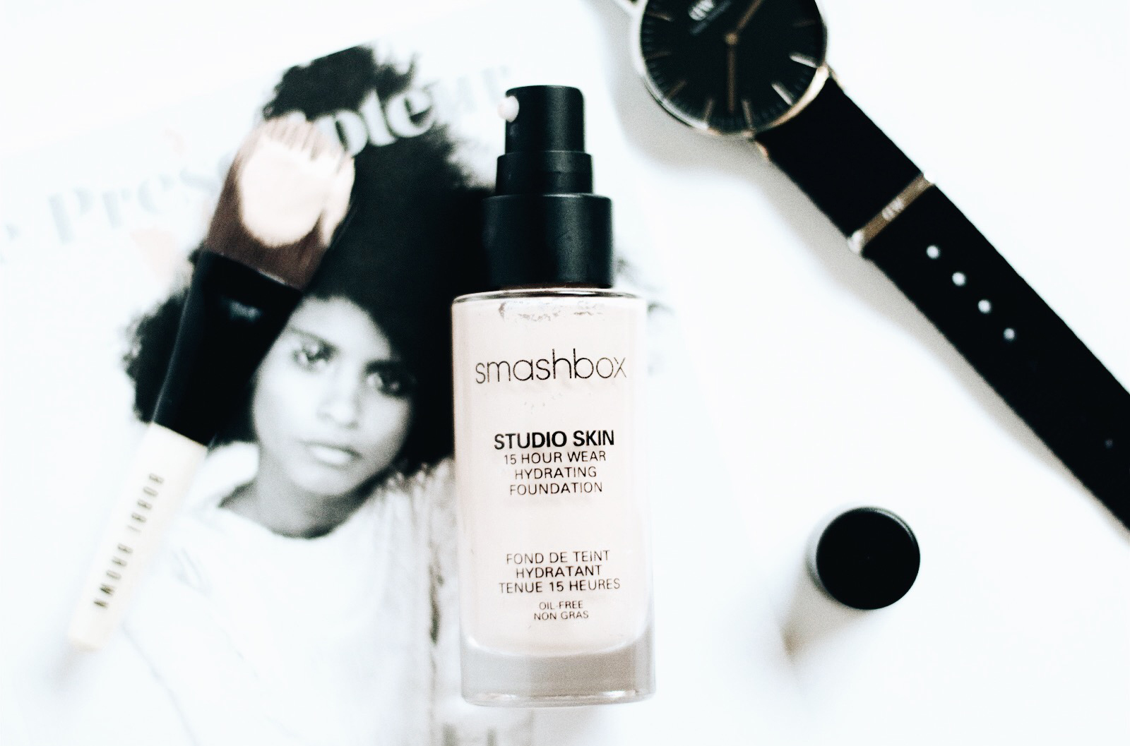 smashbox studio skin 15 hour wear fond de teint hydratant longue tenue avis test