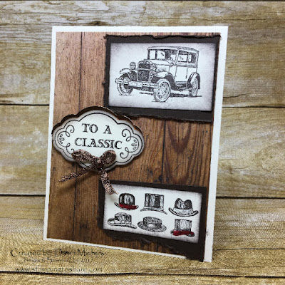 Stampin' Up! Guy Greetings card with Label Me Pretty Bundle by Dawn Michels