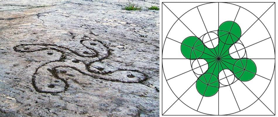 Antik semboller, A,Camonica gülü, Eski semboller, Antik sembollerin anlamları, Semboller, Semboller ve anlamları, Güneş sembolü,Çiçek sembolü