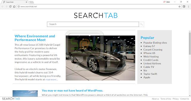 SearchTab.net (Hijacker)