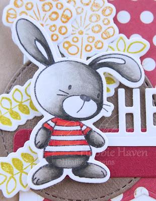 Heather's Hobbie Haven - Color Wednesday - Snuggle Bunnies 2