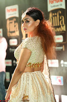 Apoorva Spicy Pics in Cream Deep Neck Choli Ghagra WOW at IIFA Utsavam Awards 2017 96.JPG