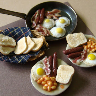 Desayuno miniatura