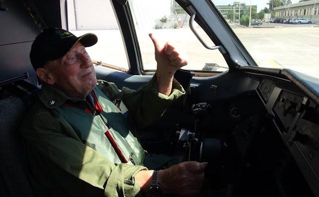 96-year-old Italian veteran P-72A