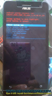 Hard Reset Asus Zenfone 5 Android Lollipop