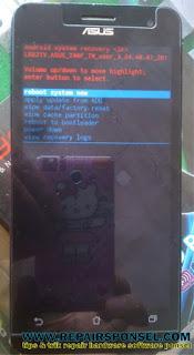 Hard Reset Asus Zenfone 5 Android Lollipop