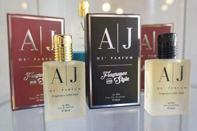 Wangian daripada AJ De' Parfum