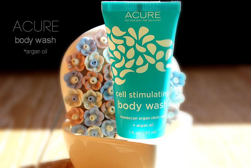 Органический гель для душа с аргановым маслом ACURE Organics Cell Stimulating Body Wash / отзывы