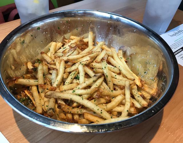 Whole Foods La Order Vegan Burger