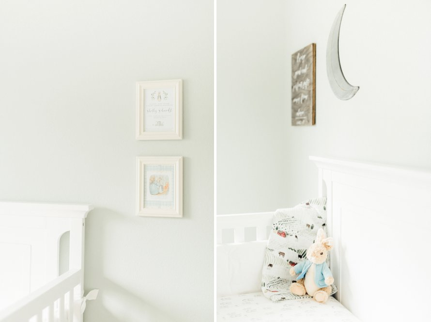 Vintage Storybook Nursery | Peter Rabbit Theme | Something Minted and More Photography