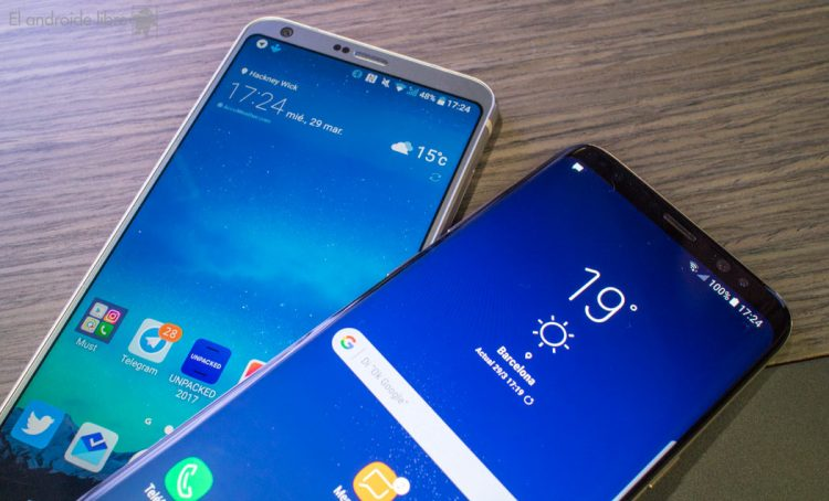 samsung-galaxy-s8-lg-g6-6-750x454 LG prepares to make the leap to OLED screens on mobile phones Technology