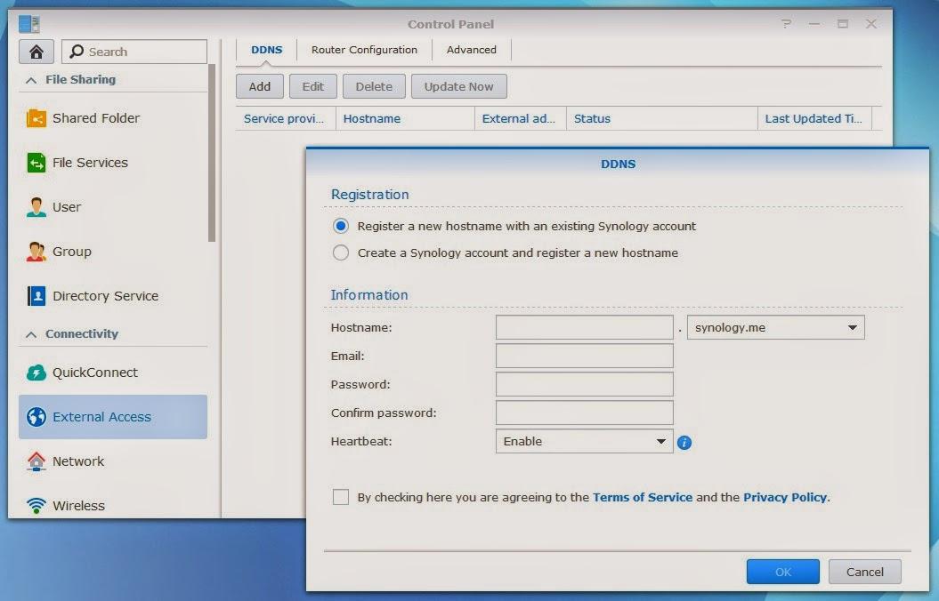 Envision. Code. Enjoy.: Synology DSM5.0 remote access via DDNS