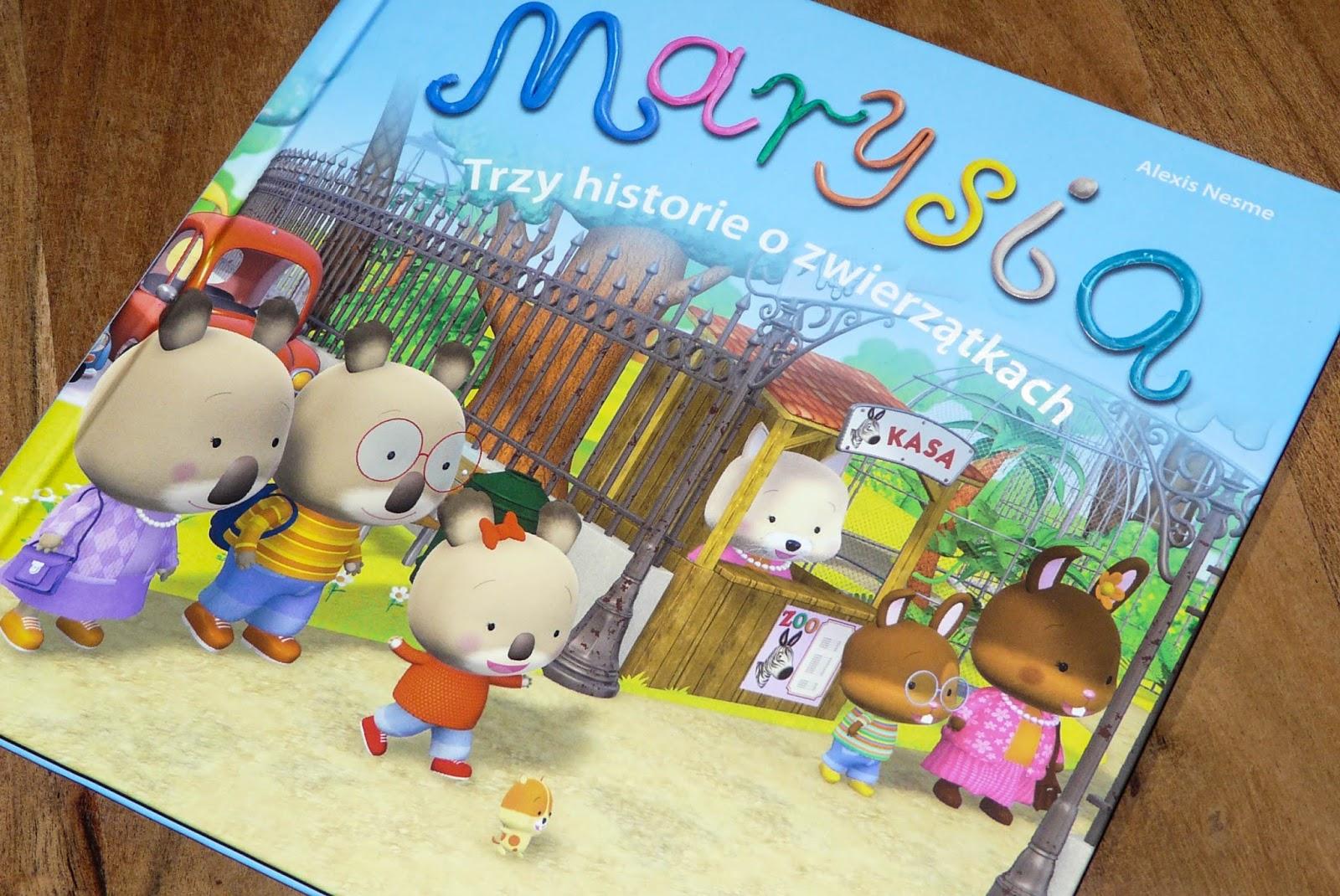 co czytać trzylatkowi, książki dla przedszkolaków, misia marysia, książki dla dzieci