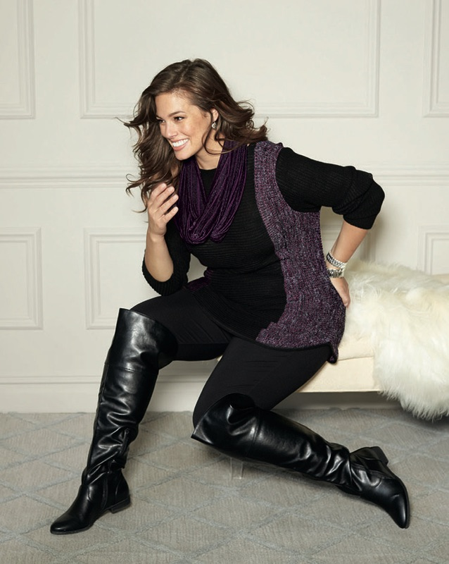 beda5f79225 Why Every Curvy Girl Needs Over The Knee Boots (and how to wear them well)