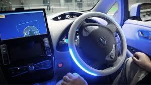 driving autonomous car