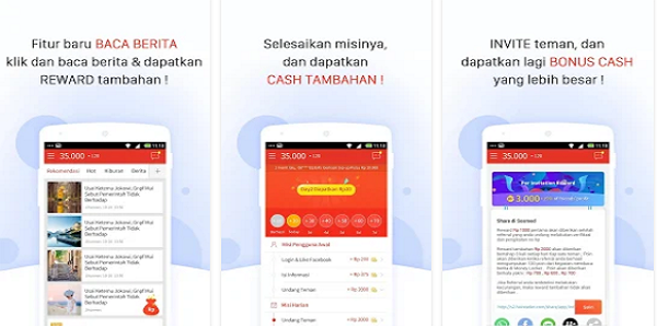 Aplikasi Pulsa Gratis Money Locker