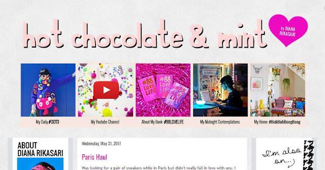 Blog Hot Chocolate & Mint dianarikasari.blogspot.com - Beauty Blogger Indonesia Terbaik