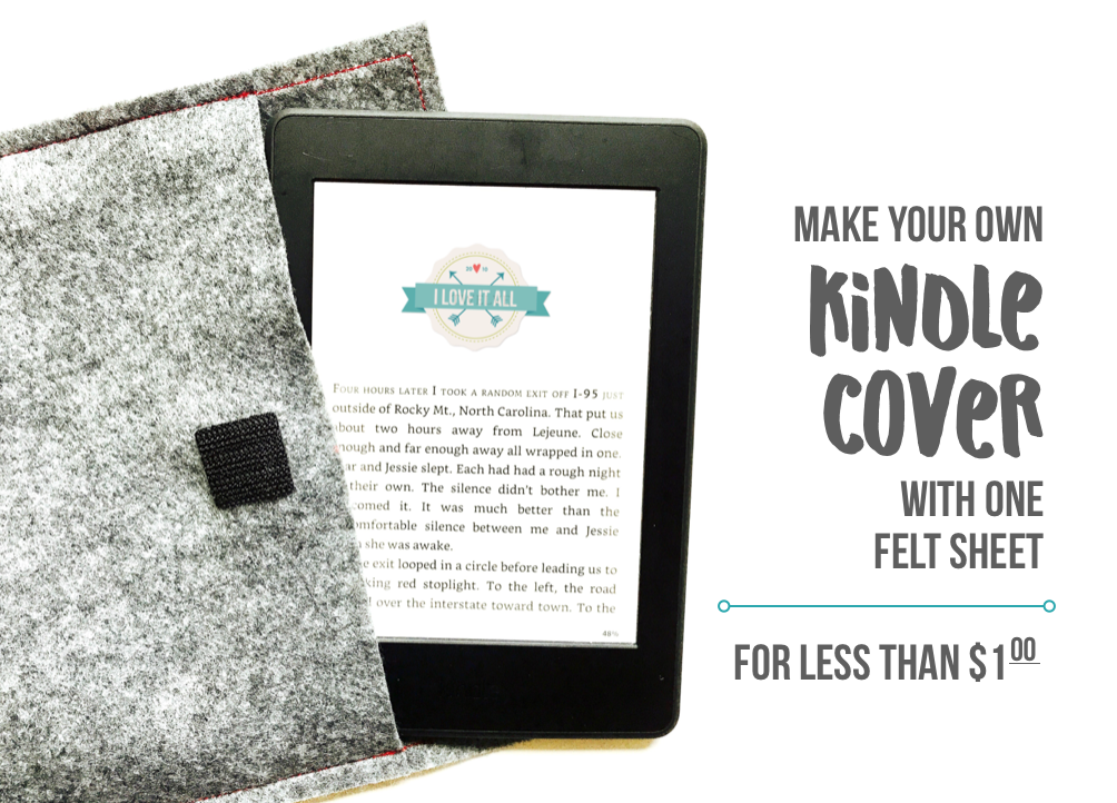 #kindle #cover #tutorial #paperwhite #diy #iloveitallblog