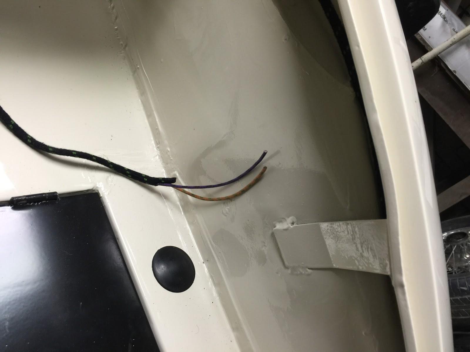 Jaguar Xk150 Electrics Ots Restoration Wiring Harness The Route For Rear Loom