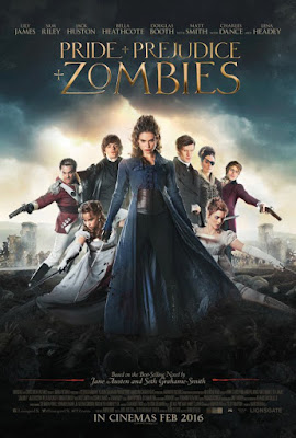 Pride and Prejudice and Zombies 2016 720p HDRip 750mb hollywood movie Pride and Prejudice and Zombies 720p brrip free download or watch online at world4ufree.cc