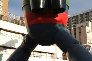 神戸・長田の鉄人28号モニュメント