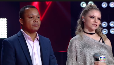 Cantor Edson Carlos se classifica para a semi-final do The Voice Brasil 2018