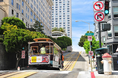 Trolley in San Francisco California