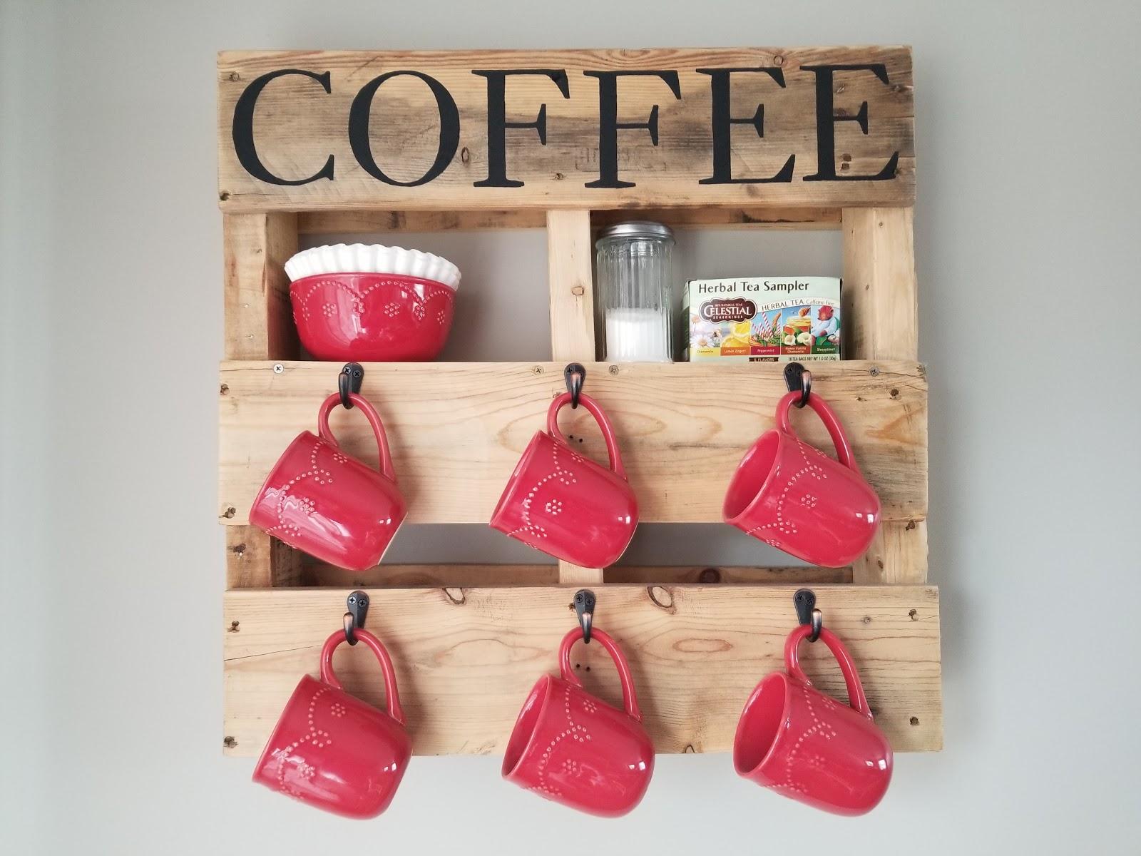 Diy Wood Pallet Coffee Cup Holder