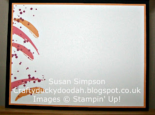 Stampin' Up! Susan Simpson Independent Stampin' Up! Demonstrator, Craftyduckydoodah!, Painter's Palette, Swirly Bird, Supplies available 24/7,
